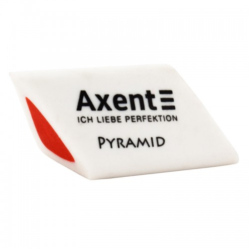 "Ластик ""Axent"" PYRAMID мягк. двухцв. арт.1187-А (27/900шт)"