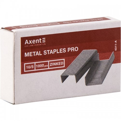 Скобы AXENT Pro 10/5 1000шт арт.4311-А (20/1000шт)