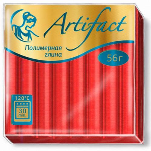 """Пластика """"Артефакт"""" АЛЫЙ 56гр №112 арт.3581 (1/10шт)"""