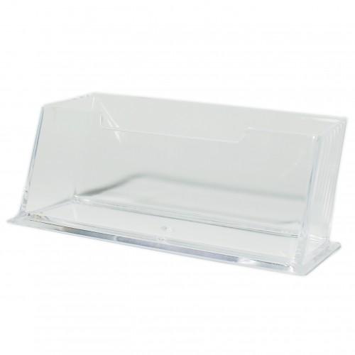 Подставка д/визитных карточек пластик. арт.10100 (1/270шт)