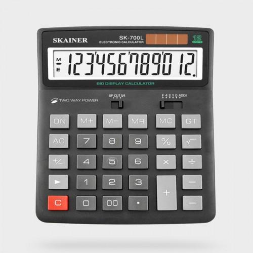 Калькулятор SKAINER 12 разр.(153*201*35мм) арт.SK-700 L