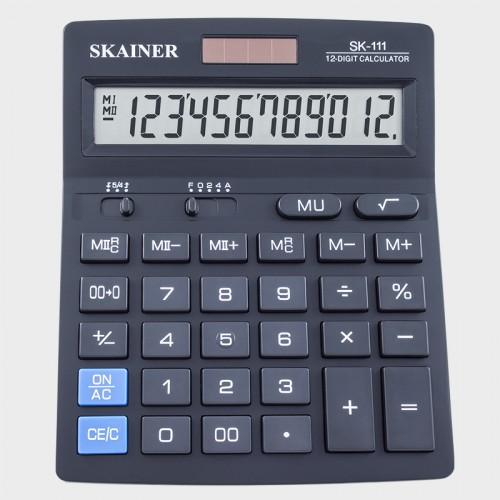 Калькулятор SKAINER 12 разр.(157*200*32мм) арт.SK-111