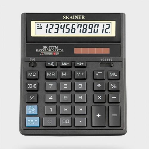 Калькулятор SKAINER 12 разр.(157*200*32мм) арт.SK-777 M