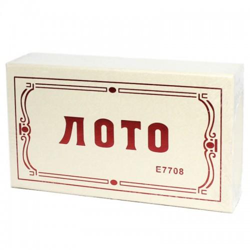 """Игра""""Лото"""" дерев. арт.7708 (1/60шт)"""