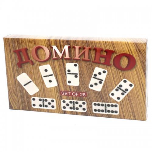 """Игра""""Домино"""" в под.упак.28 костей арт.5010-К1(4029) (1/60шт.)"""