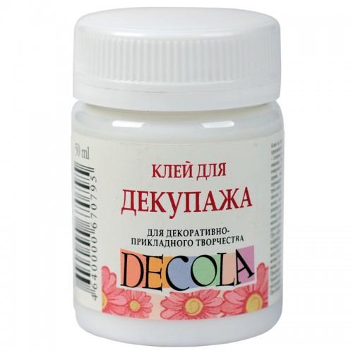 Клей DECOLA для декупажа 50мл арт.8628932