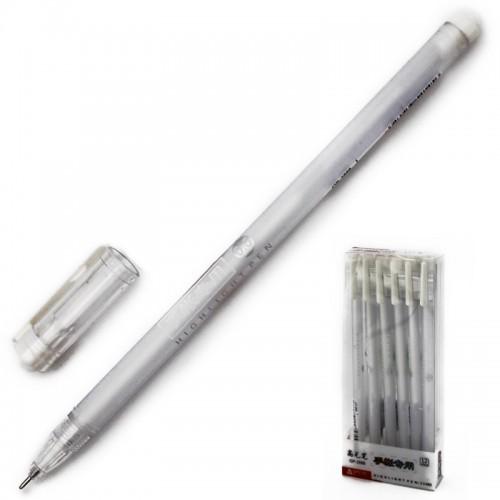 Ручка гелев. БЕЛАЯ 0,5мм арт.GP-2888 (12/144/1728шт)
