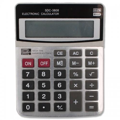 Калькулятор 8 разр. 10*13см арт.SDC-3808 (1/60/180шт)