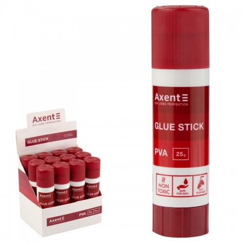 Клей-карандаш PVA AXENT 25гр арт.7103-A (12/432шт)