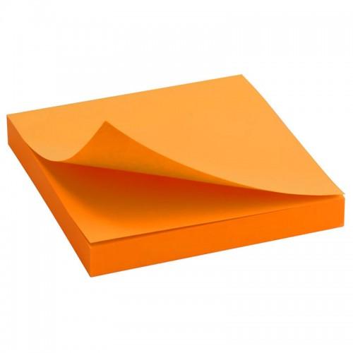 Блок бумаги с липк.слоем (75*75мм)100л ЯРКО-ОРАНЖ. арт.D3414-15 (1/24/288шт)