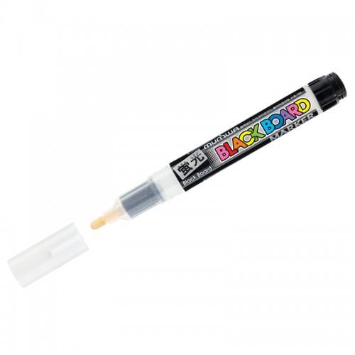 "Маркер меловой ""Black Board Marker"" БЕЛЫЙ 3мм водн.основа арт.BM-05 (1/12шт)"