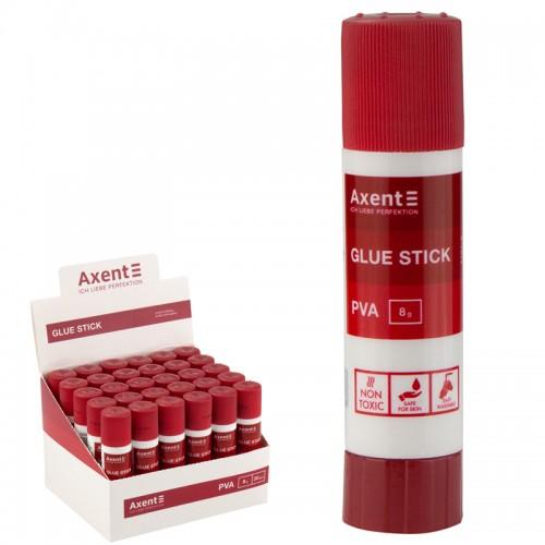 Клей-карандаш PVA AXENT 8гр арт.7101-A (30/600шт)