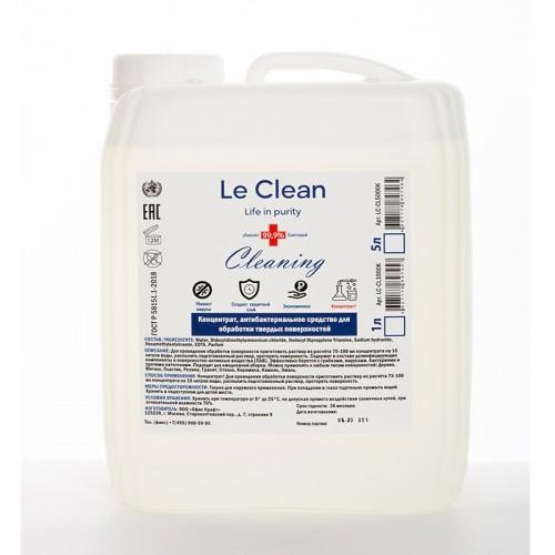 Антисептик д/обр.пов.Le Clean Antisept  1000ml концентрат арт.LC-CL1000K (1/12шт)