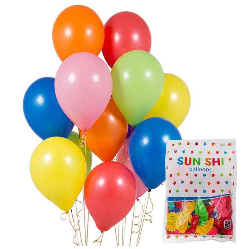 """Шар 12"""" """"SUN SHI"""" пастель ассорти арт.11801 (100/15000шт.)"""