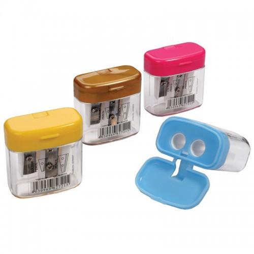 Точилка Centrum пластик. с контейнером 82721 (24/960шт)
