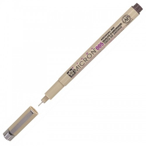 Ручка капиллярная Pigma Micron КРАСНАЯ 0,20мм арт.XSDK005#19 (1/12шт)