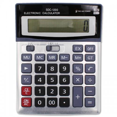 Калькулятор 12 разр. арт.SDC-1200 (1/90шт)