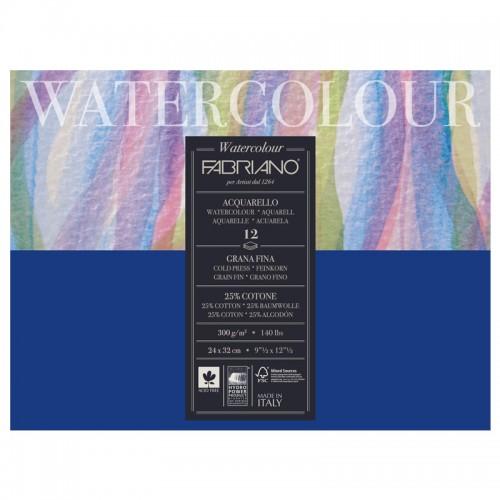 Альбом д/акварели А4+ 12л WATERCOLOUR STUDIO склейка,300г/м2 арт.17312432 (1шт)