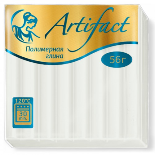 "Пластика ""Артефакт"" БЕЛЫЙ 56гр №101 арт.0000 (1/10шт)"