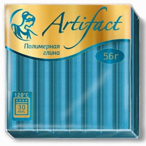 """Пластика """"Артефакт"""" БИРЮЗОВЫЙ 56гр №162 арт.9075 (1/10шт)"""