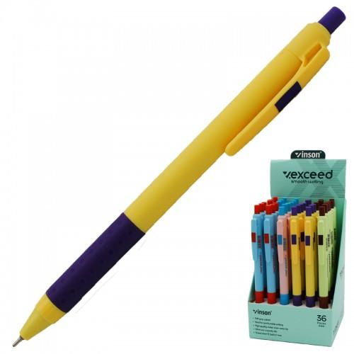 "Ручка шар.авт.soft ""EXEED"" СИНЯЯ 0,7мм арт.X1 (36/1440шт)"