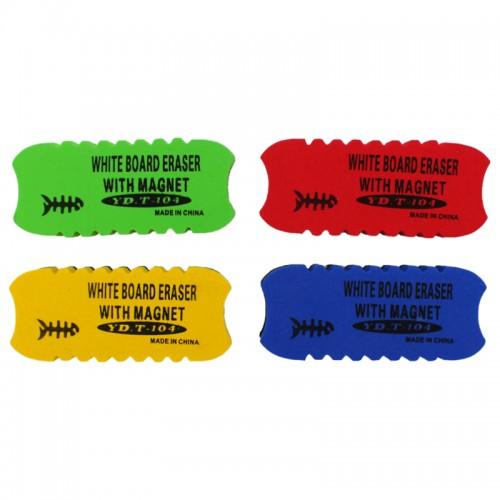 Губка маг. для маркерной доски 12*5см арт.Yd-104 (1/12/480шт)