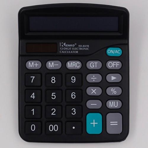 Калькулятор 12 разр.15*12см арт.DX-837В (1/60/120шт)