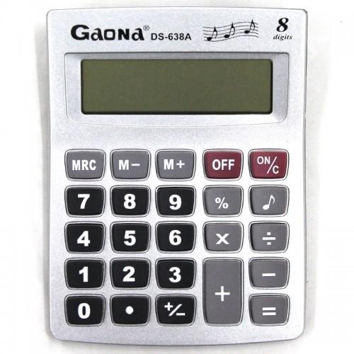 Калькулятор 8 разр.10*14см арт.DS-638A (1/200шт)