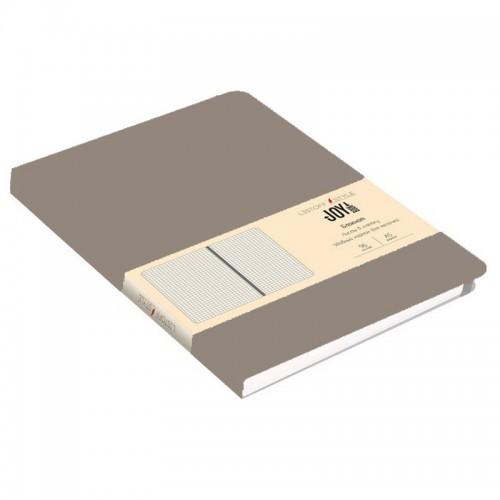 Блокнот А5 иск.кожа 96л Joy Book КАКАО 7БЦ на рез.,линия арт.БДБЛ5962911 (1/30шт)