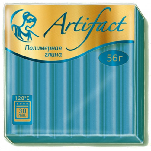 """Пластика """"Артефакт"""" АКВАМАРИН 56гр №165 арт.8733 (1/10шт)"""
