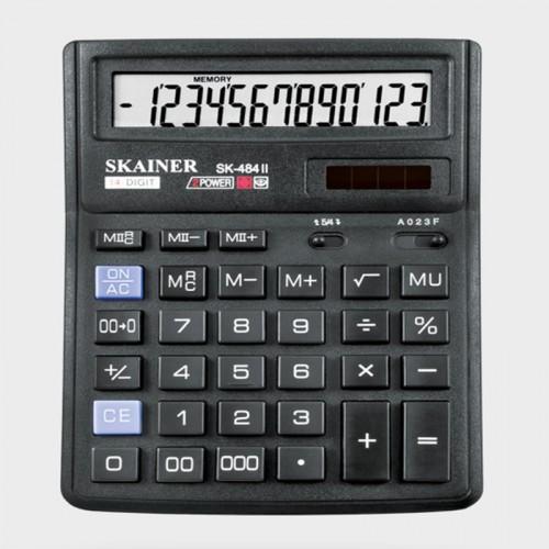 Калькулятор SKAINER 14 разр.(143*192*39.5мм) арт.SK-484 II