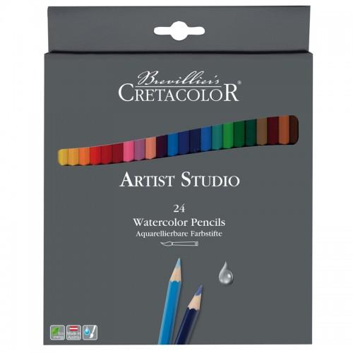 """Карандаши акварельные """"Artist Studio Line"""" 24цв набор карт.коробка арт.CC281 24"""