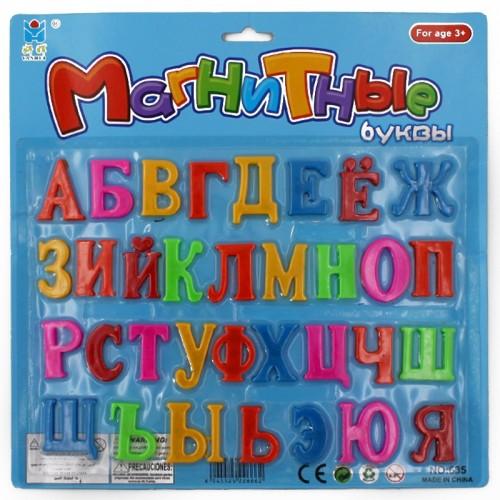 Набор букв на магните пластик. арт.635 (1/180шт)