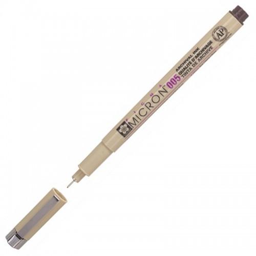 Ручка капиллярная Pigma Micron ЗЕЛЕНАЯ 0,20мм арт.XSDK005#29 (1/12шт)