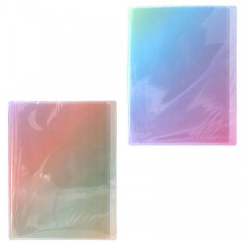 Папка пласт. 40файлов А4 РАДУГА арт.1442 (1/120шт)