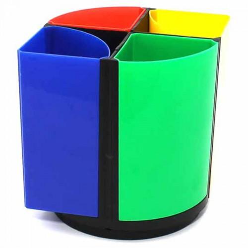 """Органайзер """"Mini desk"""" б/нап. сегментный цветной арт.466 (1/20/120шт)"""