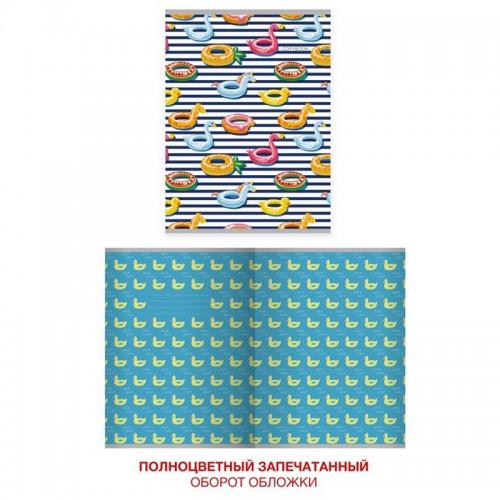 Тетрадь А4  60л клетка CUTE&FUNNY диз.1 мел.карт.уф-лак арт.ТЛ4604594 (1/40шт)
