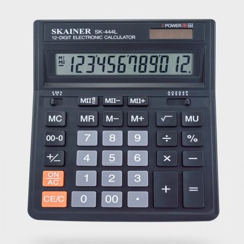Калькулятор SKAINER 12 разр.(153*199*31мм) арт.SK-444 L
