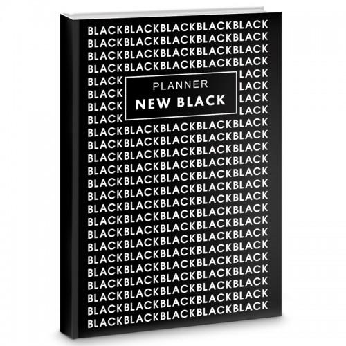 Блокнот-bullet А5+ 64л NEW BLACK Диз.2 бум.70г/м2 арт.ББ56484 (1/32шт)