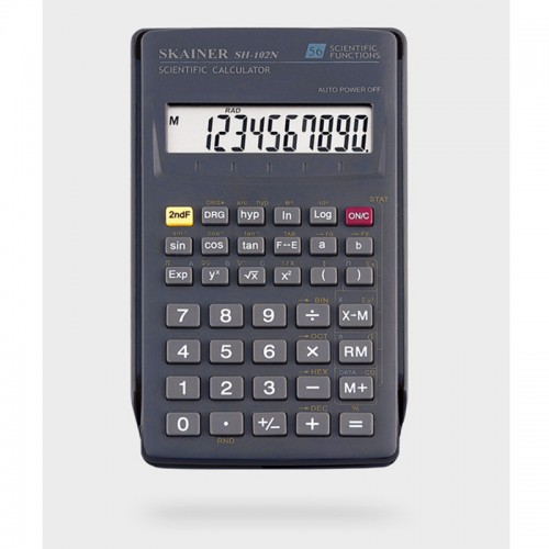 Калькулятор SKAINER 8+2 разр.инженерный (71*134*12мм) арт.SH-102 N