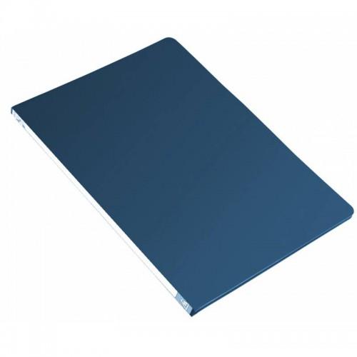 Папка-скоросшиватель с метал.пруж. БЮРОКРАТ А4 СИНЯЯ 0,5мм 816841 арт.PZ05PBLUE (1/44шт)