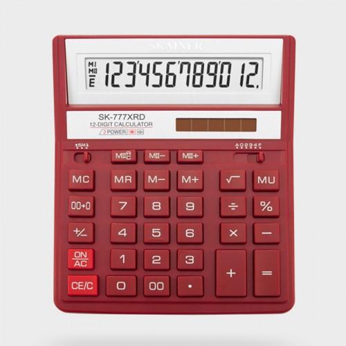 Калькулятор SKAINER 12 разр.(157*200*32мм) арт.SK-777 XRD