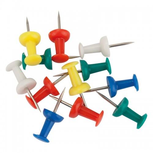 Кнопки силовые AXENT цветные 30шт арт.4203-А (20/240шт)