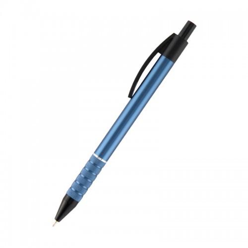 Ручка шар. авт. PRESTIGE корп.синий СИНЯЯ 0,5мм арт.AB1086-14-02 (1/72шт)