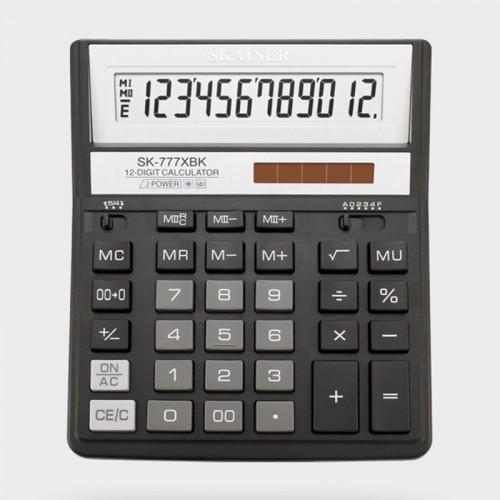 Калькулятор SKAINER 12 разр.(157*200*32мм) арт.SK-777 XBK