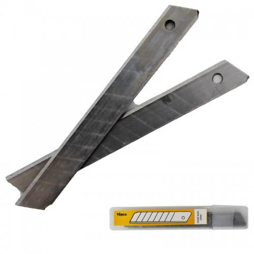 Лезвия для ножа запасные 18мм 10 шт. арт.110400 ( 1/20/300шт)