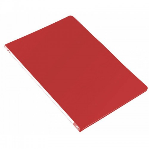 Папка-скоросшиватель с метал.пруж. БЮРОКРАТ А4 КРАСНАЯ 0,5мм816844 арт.PZ05PRED (1/44шт)