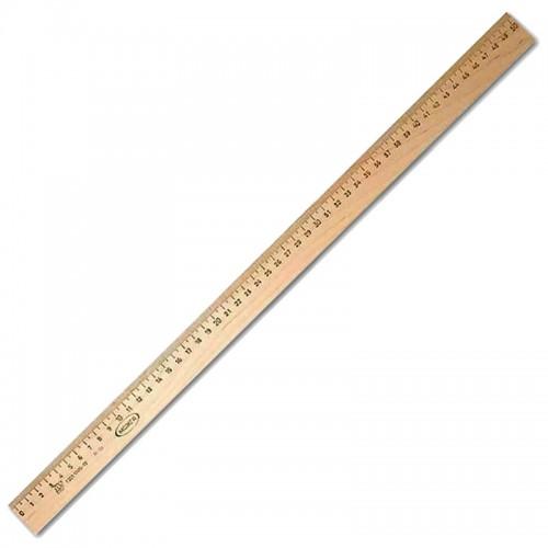 Линейка деревянная 50см арт.ЛМП500 (10/50/500шт)