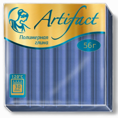 "Пластика ""Артефакт"" ДЫМЧАТЫЙ СИНИЙ 50гр №4613 арт.М7457 (1/10шт)"