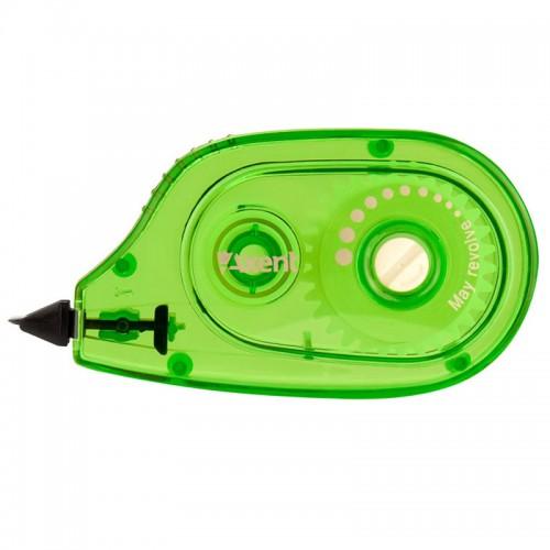 Коррект. роллер AXENT 5мм*6м зелен. корп. арт.7009-04-А (1/48/576шт)